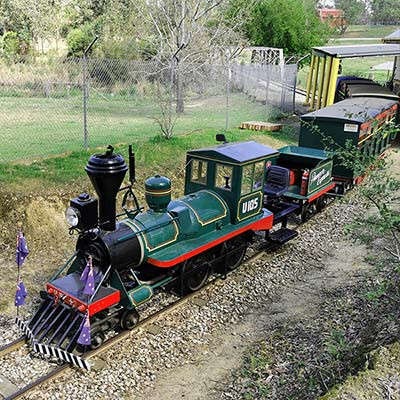 Australiana Pioneer Village Train Rides